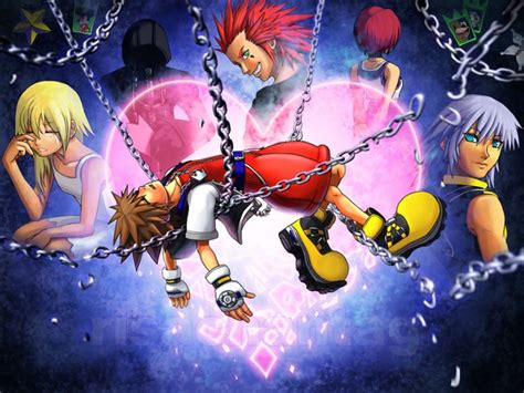 kh chain of memories kingdom hearts chain of memories banner by conangiga on