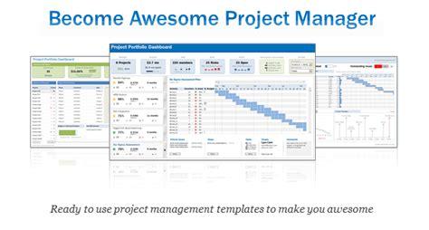excel project amp portfolio management templates download