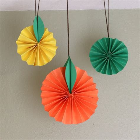 paper craft for toddlers hanging citrus fruit paper craft for buggy and buddy