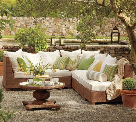 patio furniture designs outdoor garden furniture by pottery barn