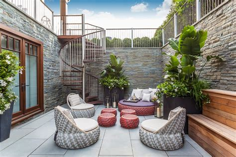 walkout basement patio walkout basement patio patio contemporary with