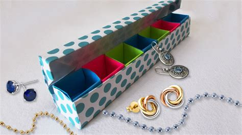 cool paper crafts for diy paper crafts origami jewelery box tutorial cool