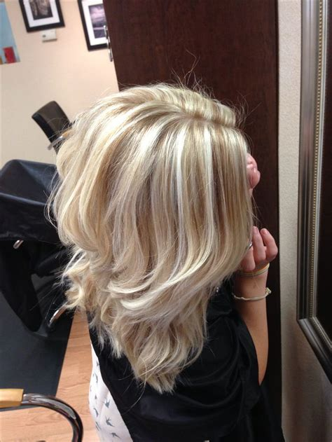 lowlights hair color pics cool blonde with lowlights hair pinterest blonde