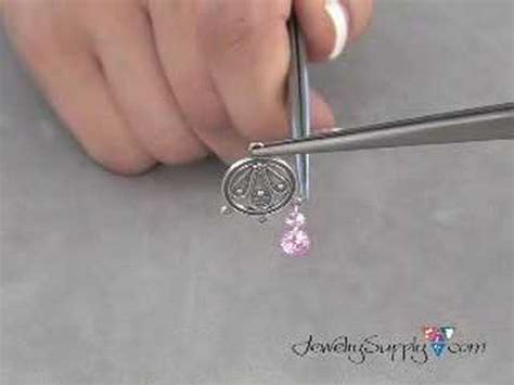 how do you make jewelry how to make you own cz earrings jewelry
