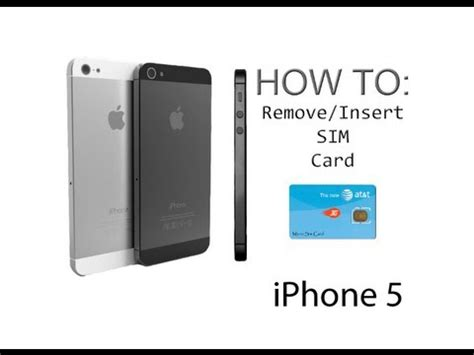 how to make a sim card into a micro sim iphone 5 5s how to insert remove a sim card