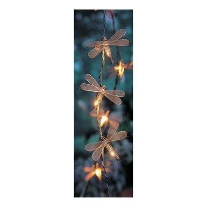 dragonfly outdoor lights 10 bulb dragonfly string light set outdoor lighting for