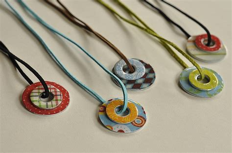 necklace crafts for c craft washer necklaces sugar bee crafts