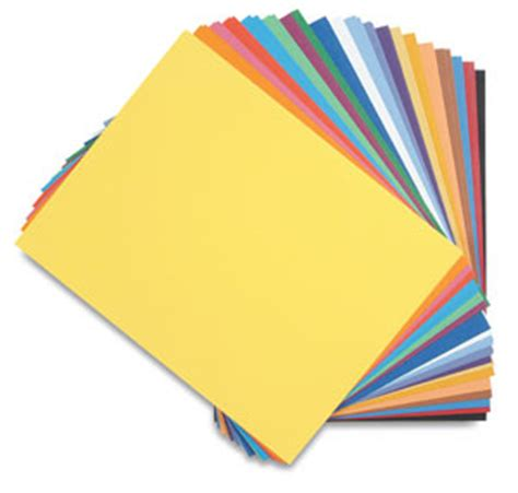 paper craft materials canson colorline papers blick materials