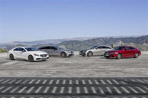Mercedes Lineup by Mercedes Reveals Its 2015 Cls Lineup