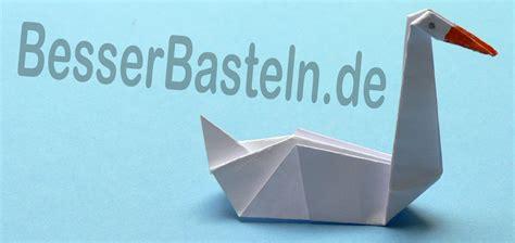 origami schwan origami tiere falten schwan