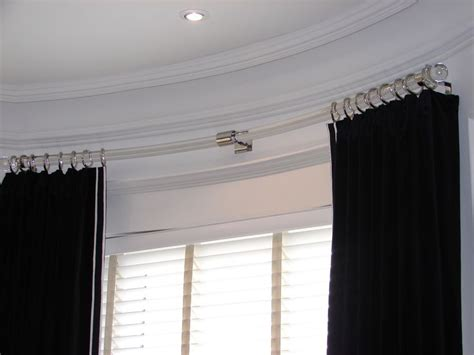 Curved Curtain Rod For Bow Window curved curtain rod for bow window brackets for curtain