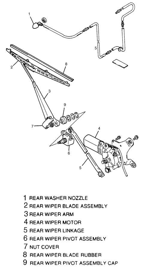 repair windshield wipe control 1998 suzuki x 90 engine control repair guides windshield wipers and washers windshield wiper blade and arm autozone com