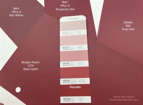 behr paint color of the year marsala pantone 2015 color of the year in interior design
