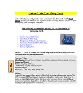 how to make health card medication card template 10 free printable word pdf