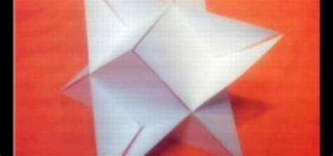 3d triangle origami how to origami a 3d triangle 171 origami wonderhowto