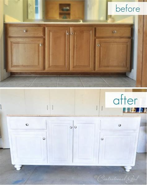 Ideas To Update Kitchen Cabinets best 25 bathroom vanity makeover ideas on pinterest