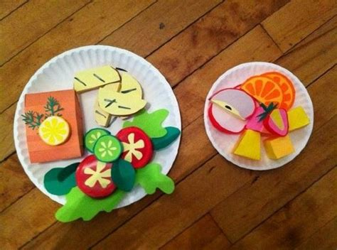 food crafts paper food crafts for site about children