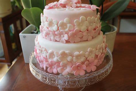 tarta de fondant con flores paso a paso tartas - Decoracion Tartas Fondant Paso A Paso