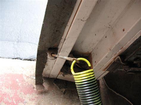 garage door extension springs replacement one garage door extension replacement