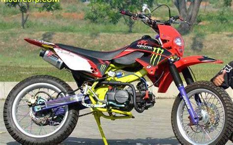 Gambar Motor Supra Modifikasi by Foto Modifikasi Motor Cross Supra Fit Impremedia Net