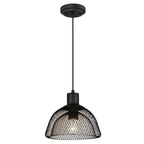 pendant light home depot westinghouse 1 light matte black pendant 6345100 the