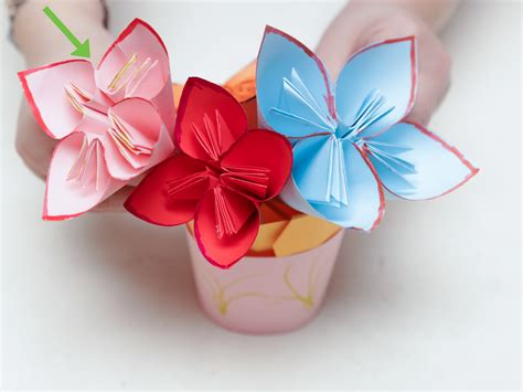 origami flower with a4 paper origami flower using a4 comot