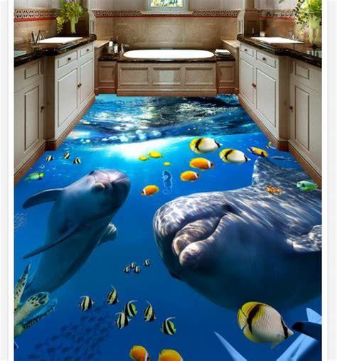 Bathroom Wall Covering Ideas 3d epoxy floors 8