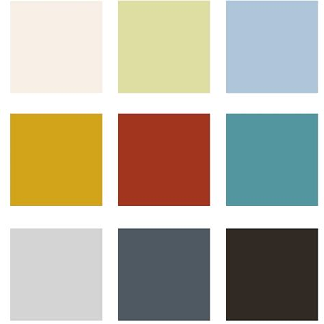 paint colors nursery paint palette for home painting ideas color idolza
