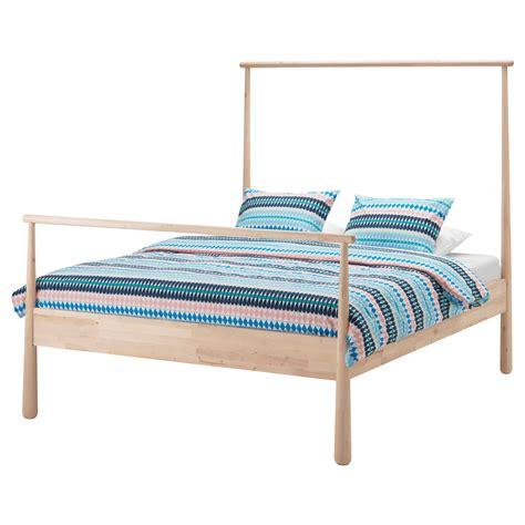 ikea bead gj 214 ra bed frame birch lur 246 y standard ikea