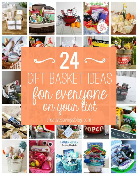 ideas make diy gift basket ideas for everyone on your list