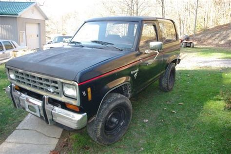 how it works cars 1984 ford bronco ii engine control sell used 1984 ford bronco ii in boissevain virginia united states for us 1 500 00