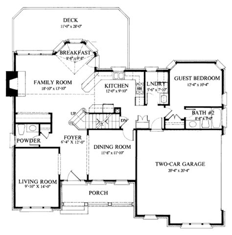 Craftsman Cottage Floor Plans colonial style house plan 4 beds 3 5 baths 2400 sq ft