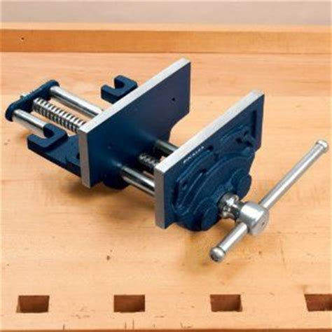 woodworking front vise roubo style bench with front vise by woodwrecking