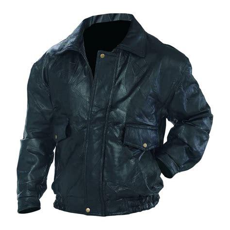 real leather jackets mens new mens black napoline genuine leather bomber jacket coat biker motorcycle