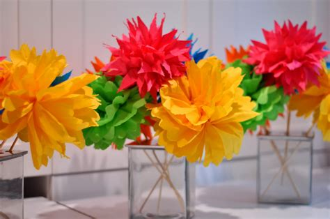paper flowers craft aesthetic nest craft quot flirty quot flower bouquets