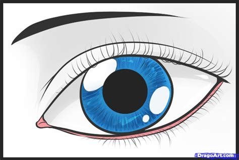 how to draw a eye how to draw an easy eye step by step free