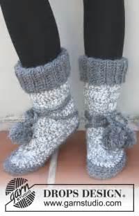 free knit slipper boot pattern free knitted crochet slipper boots patterns