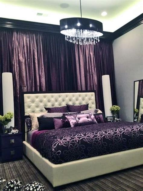 purple and black bedroom ideas purple accents in bedrooms 51 stylish ideas digsdigs