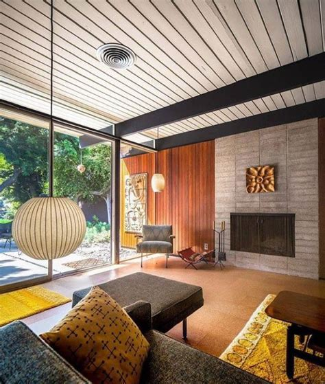 mid century modern home interiors the craig ellwood bobertz residence a and his house