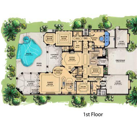 house plans for florida coastal contemporary florida mediterranean house plan 71503
