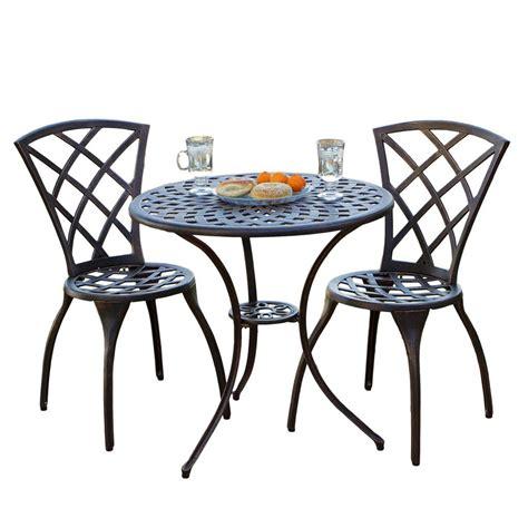 bistro set patio furniture glenbrook bistro set best patio furniture sets