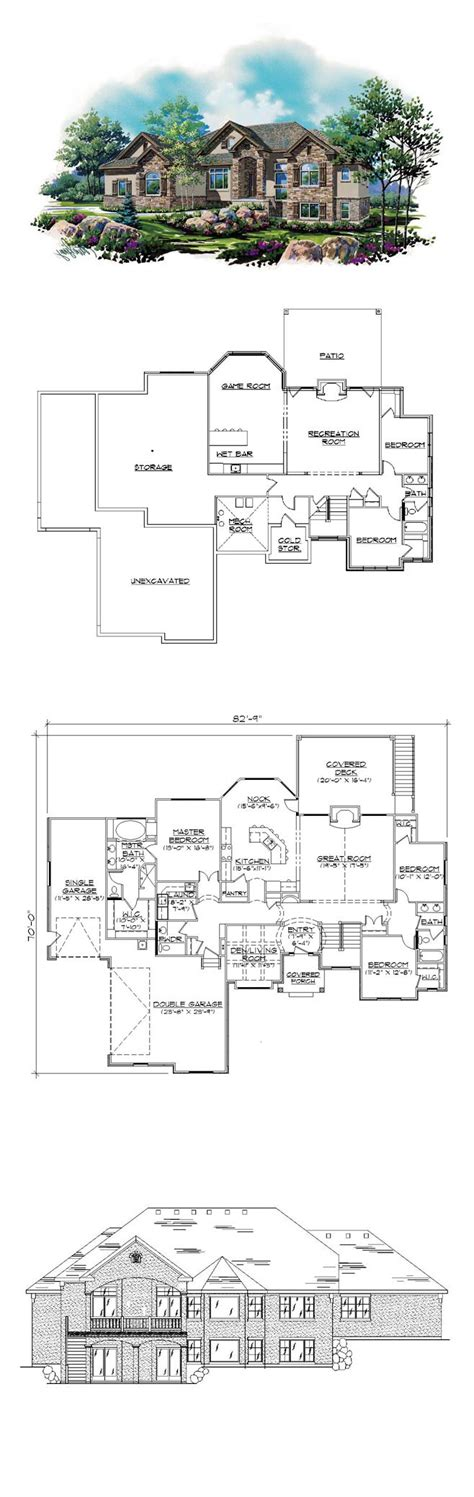 finished basement house plans 17 best images about house plans with finished basements on house plans safe room