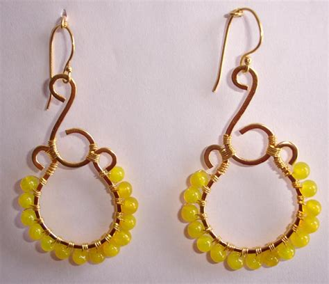 how to make glass bead earrings wire wrap glass bead earrings manufacturer injaipur