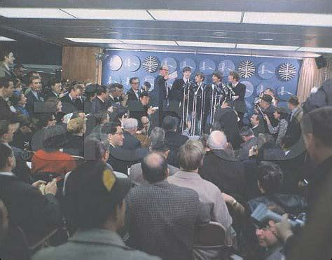 the original rubber st convention the beatles us press conference