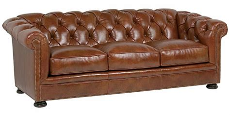 button leather sofa button tufted leather chesterfield cigar sofa club furniture
