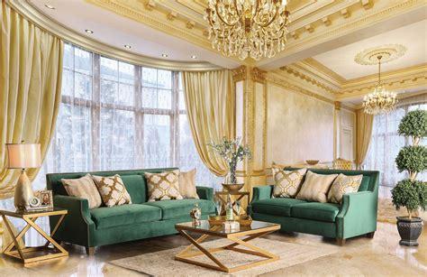 green living room furniture sets verdante emerald green living room set from furniture of