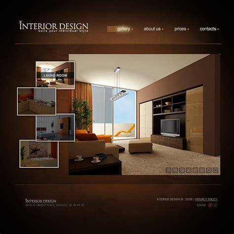 interior design website templates interior design flash template 19551