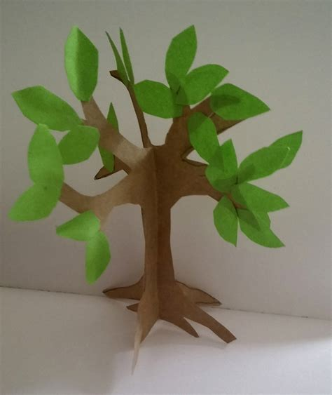 craft paper tree how to make an easy paper craft tree imagine forest