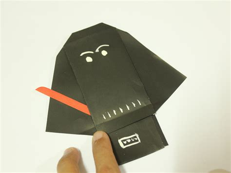 origami wars finger puppets fold origami wars characters comot