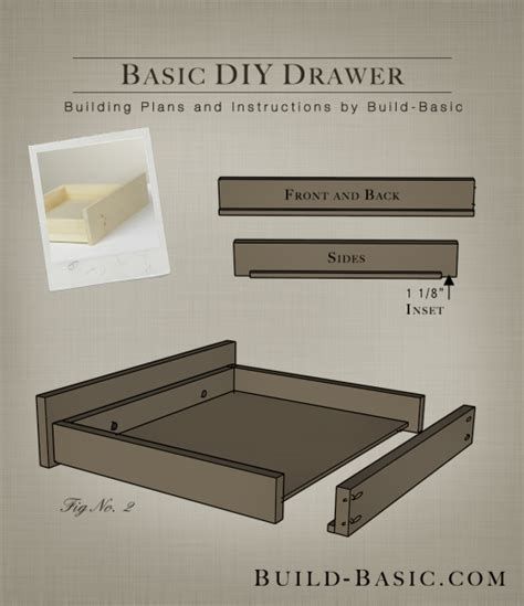 how to build a cabinet drawer build a basic diy drawer build basic